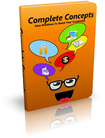 Complete Concepts: Easy solutions to boost creativity | eBooks | Other