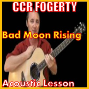 Learn to play Bad Moon Rising by CCR | Movies and Videos | Educational