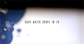Dark Water Drops 1 | Software | Software Templates