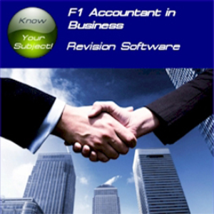 ACCA F1 Accountant in Business Revision Software STi | Crafting | Sewing | Other