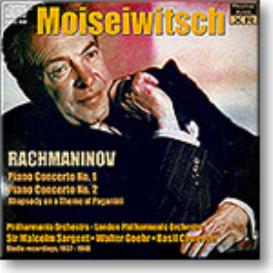 MOISEIWITSCH plays Rachmaninov Piano Concertos 1 & 2, Paganini Rhapsody, Ambient Stereo MP3 | Music | Classical