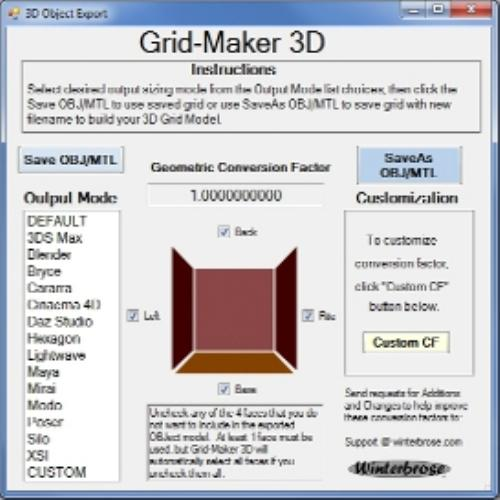 Third Additional product image for - Grid-Maker 3D for Windows