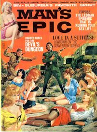 MAN'S EPIC magazine, Dec. 1964 (COMPLETE ISSUE) | eBooks | Fiction
