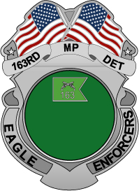 163rd Military Police Detachment Insignia EPS File  [1022] | Other Files | Graphics