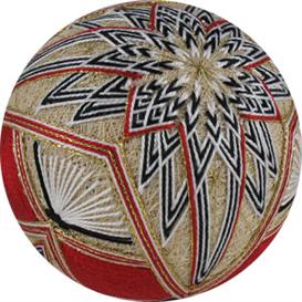 unfolding kiku temari pattern