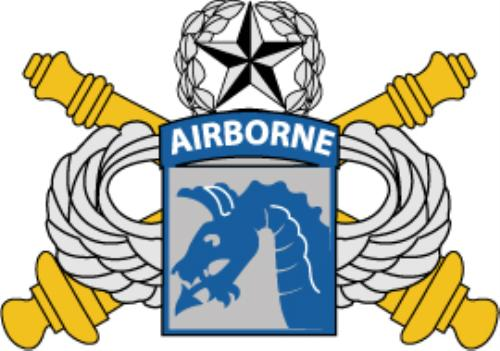 First Additional product image for - U.S. Army XVIII Airborne Corps Artillery Insignia AI File  [1035]