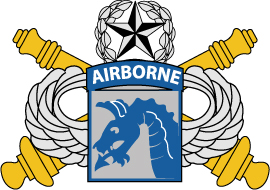 U.S. Army XVIII Airborne Corps Artillery Insignia EPS File [1035] | Other Files | Graphics