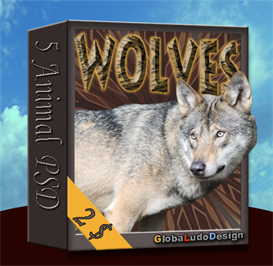 Wolf PSD | Other Files | Photography and Images