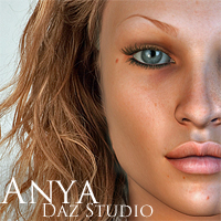 Anya for DAZ Studio | Software | Design