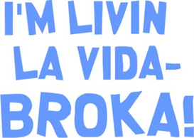 La Vida Broka machine embroidery file | Crafting | Sewing | Other