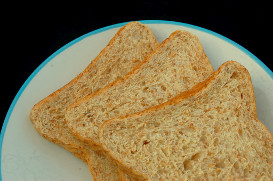 Wheat Bread on Plate Photo | Photos and Images | Food