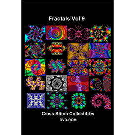 Fractal DVD Vol 9 cross stitch pattern by Cross Stitch Collectibles | Crafting | Cross-Stitch | Other
