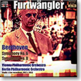 FURTWANGLER conducts Beethoven Symphonies 6 and 8, mono 16-bit FLAC | Music | Classical
