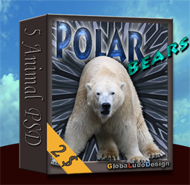 Polar Bear PSD pack | Other Files | Photography and Images