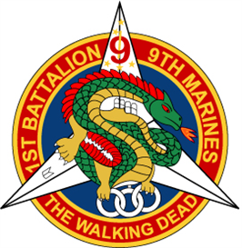 1st Battalion 9th Marine Regiment - The Walking Dead - Dragon EPS File [2436] | Other Files | Graphics