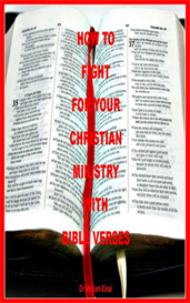How to Fight for your Christian Ministry with Bible Verses | eBooks | Religion and Spirituality