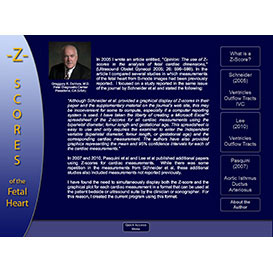 z-scores of the fetal heart (windows version)
