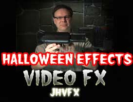 jhvfx - spiders, snakes and bats fx dvd