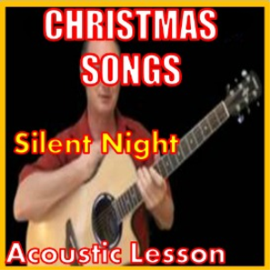 learn to play silent night on the acoustic guitar