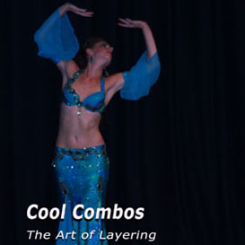 Belly dance Cool Combo and the art of layering | Movies and Videos | Educational