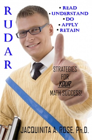 R.U.D.A.R™(Read, Understand, Do, Apply, Retain): Strategies For Your Math Success | eBooks | Reference