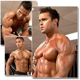 13179 - 2012 NPC Junior Nationals Men´s Physique Pump Room Part 1 (HD)   Movies and Videos   Fitness