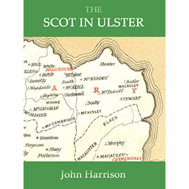the scot in ulster: sketch of the history of the scottish population of ulster