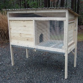 5' rabbit hutch plans