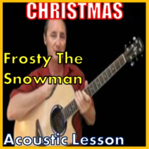 Learn to play Frosty The Snowman on the acoustic (kproducts) | Movies and Videos | Educational