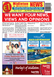 Midleton News September 26th 2012 | eBooks | Periodicals