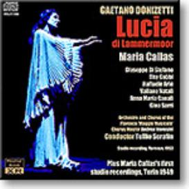 CALLAS Lucia di Lammermoor (1953); First Studio Sessions (1949), Ambient Stereo MP3 | Music | Classical