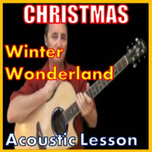 Learn to play Winter Wonderland on the acoustic (kproducts) | Movies and Videos | Educational