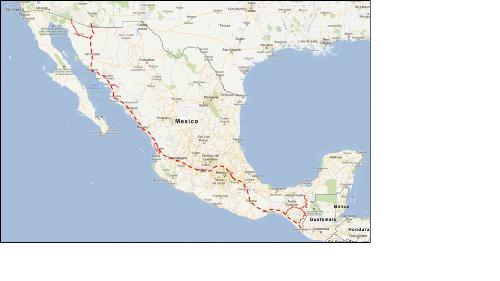 First Additional product image for - Nogales to Mexico City to Tapachula Road Log and Travel Guide