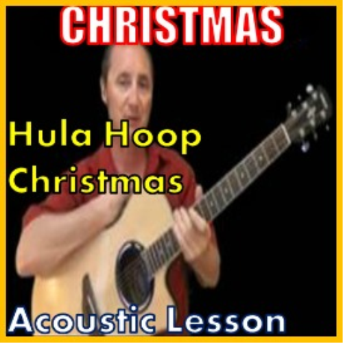First Additional product image for - Learn to play Hulu Hoop Christmas on the acoustic (kproducts)