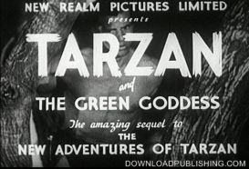 Tarzan And The Green Goddess - Movie - 1936 - Adventure Download .Mpeg | Movies and Videos | Action