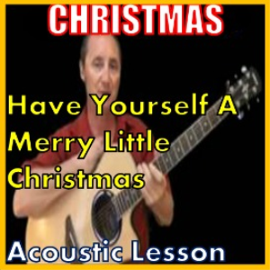 Learn to play Have Yourself A Very Merry Christmas on the acoustic (kproducts) | Movies and Videos | Educational