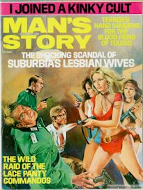 man's story magazine, december 1973 (complete issue)