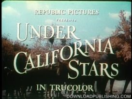 Under California Stars - Movie 1948 Western Roy Rogers Download .Mpeg | Movies and Videos | Action