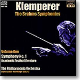 KLEMPERER conducts Brahms Symphony No.1, Academic Festival Overture, stereo 16-bit FLAC | Music | Classical