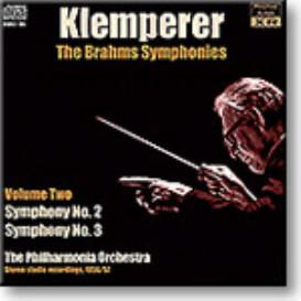 KLEMPERER conducts Brahms Symphony No.2, Symphony No.3, stereo MP3 | Music | Classical