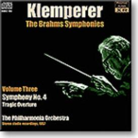 KLEMPERER conducts Brahms Symphony No.4, Tragic Overture, stereo MP3 | Music | Classical