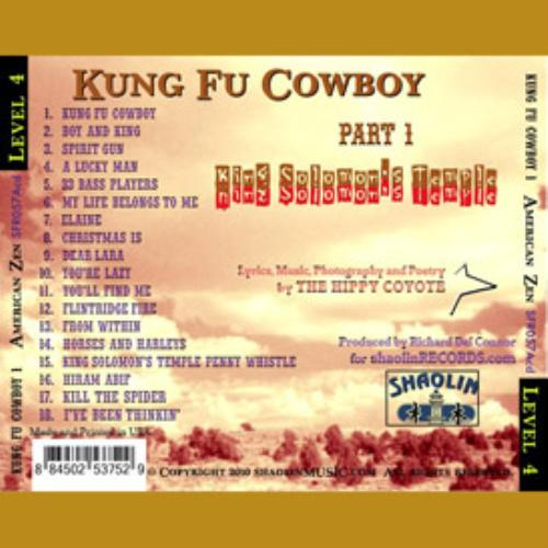 First Additional product image for - AZ KFCL4-P1 KUNG FU COWBOY song download from King Solomon's Temple by American Zen