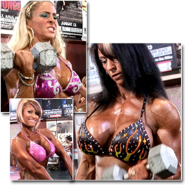 23098 - 2011 NPC Nationals Womens Physique Pump Room (HD) | Movies and Videos | Fitness