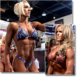 23099 - 2011 NPC Nationals Womens Figure Pump Room (HD) | Movies and Videos | Fitness