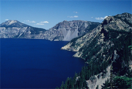 Blufftop Crater Lake Hi-Res Image | Photos and Images | Nature