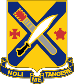 2nd Infantry Regiment - NOLI ME TANGERE - Do Not Touch Me AI File [2738] | Other Files | Graphics