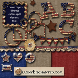 Granny Enchanteds Americana Twig kit | Crafting | Paper Crafting | Other