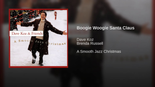First Additional product image for - Boogie Woogie Santa Claus as recorded by Dave Koz  for 5444 Big Band Vocal