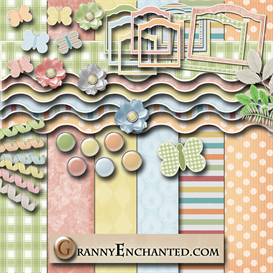 Granny Enchanteds Cross My Heart Kit | Crafting | Paper Crafting | Other