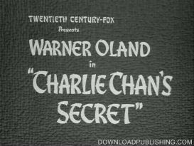 charlie chan's secret - movie 1936 mystery crime drama download .avi